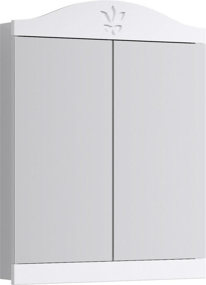 Зеркальный шкаф 65х83,5 см белый глянец Aqwella Franchesca FR0406 недорого