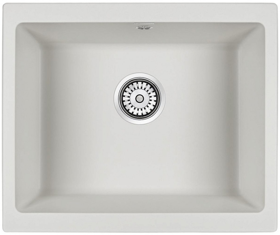 Кухонная мойка Paulmark Gera белый PM205546-WH