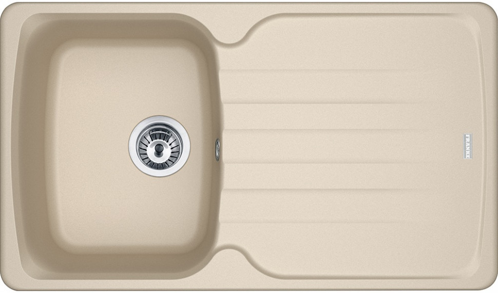 Кухонная мойка Franke Antea AZG 611-86 бежевая 114.0489.273 кухонная мойка franke antea azg 620 бежевая 114 0489 301