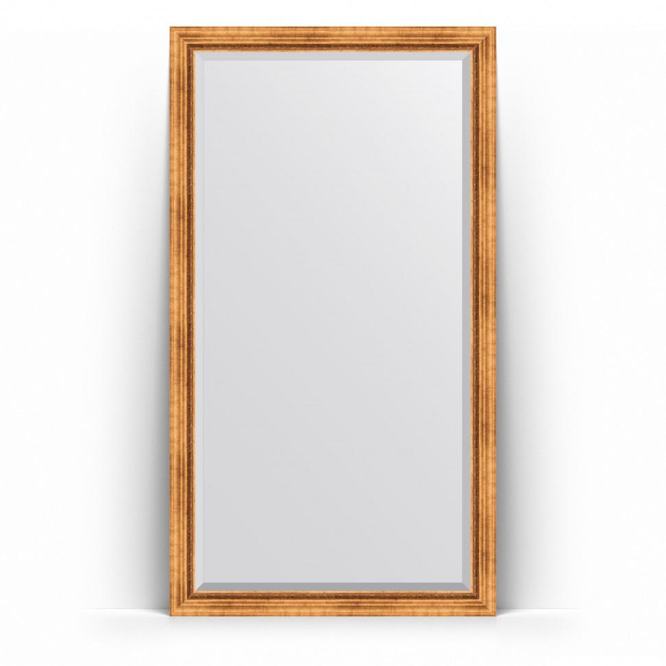 Фото - Зеркало напольное 111х201 см римское золото Evoform Exclusive Floor BY 6157 зеркало напольное 111х201 см чеканка золотая evoform definite floor by 6020