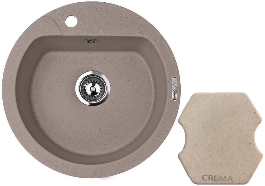 Кухонная мойка CREMA Lava R3.CRE кухонная мойка crema lava a3 cre