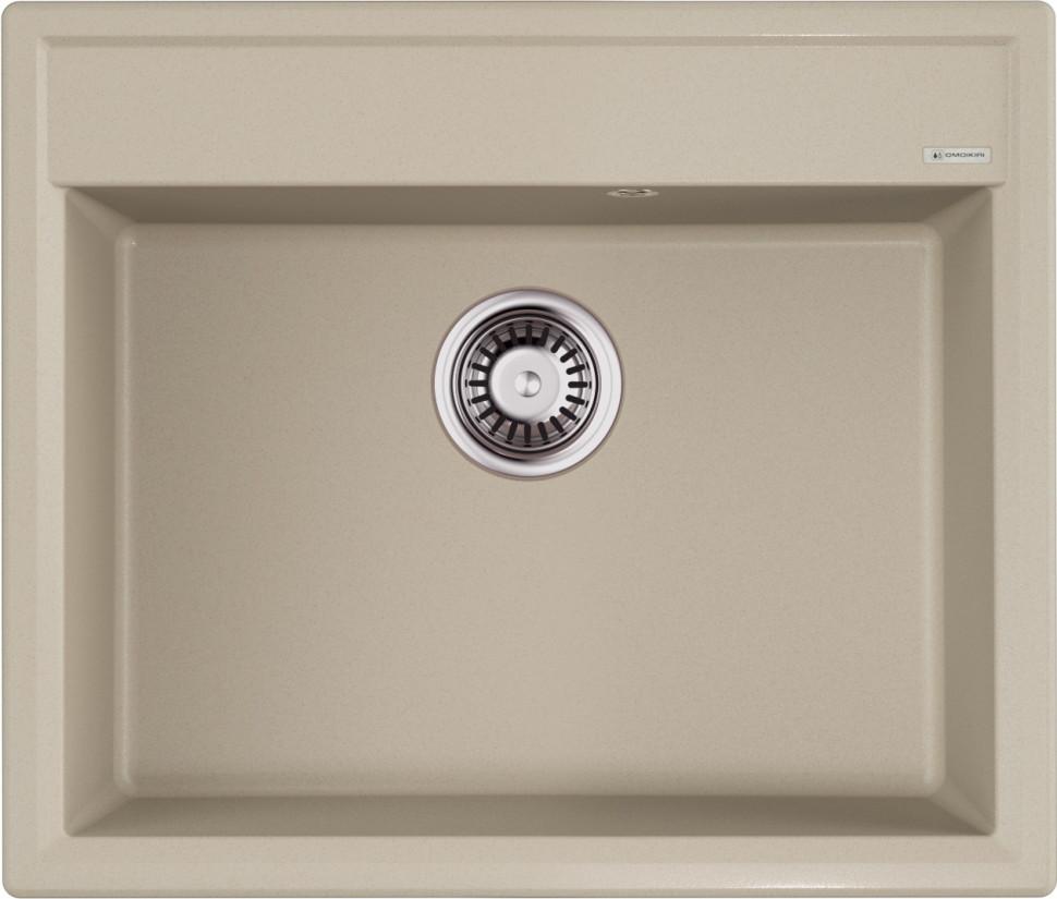 Кухонная мойка бежевый Artgranit Omoikiri Daisen 60-SA