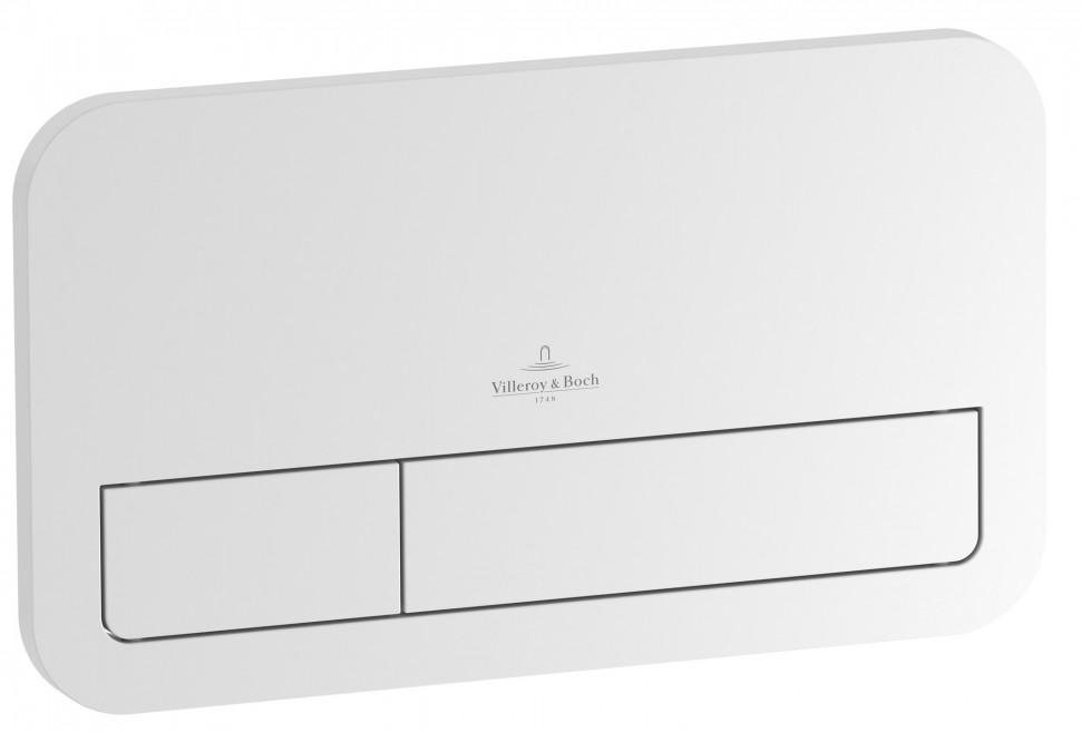 Смывная клавиша матовый хром Villeroy & Boch ViConnect E200 92249069 смывная клавиша белая villeroy