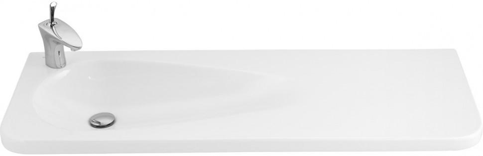 Фото - Раковина 120,4х45 см Creavit Trump TP120-00CB00E-0000 раковина 44 9х44 7 см creavit trend tp149 00cb00e 0000