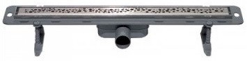 Душевой канал 900 мм полированная сталь Winkiel Perle WDO-900-03-4402
