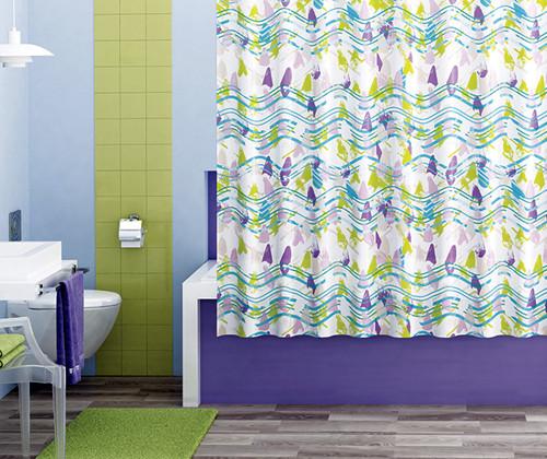 Штора для ванной комнаты WasserKRAFT Wern SC-25101 фото