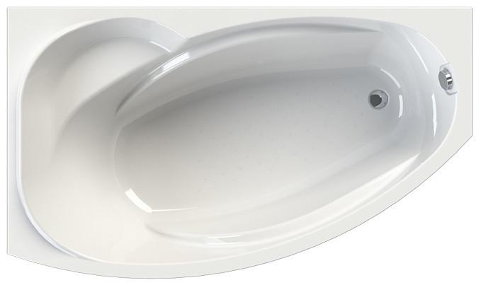 Акриловая ванна левая 169 х99 см Vannesa София 2-01-0-1-1-223