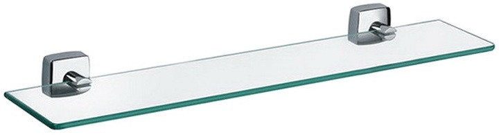 Полка стеклянная 50 см Fixsen Kvadro FX-61303 fixsen kvadro fx 61303