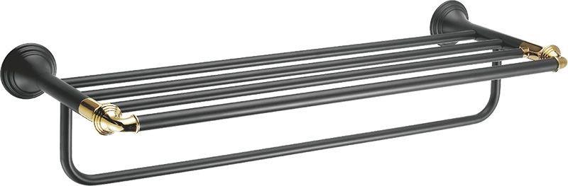 Полка для полотенец 62 см Fixsen Luksor FX-71615B