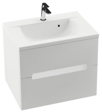 Тумба 80 см белый глянец Ravak SD Classic II L X000000910