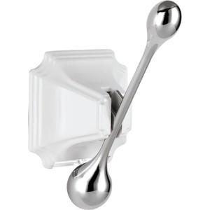 Крючок Elghansa Hermitage HRM-900-WHITE/CHROME крючок elghansa hermitage белый хром hrm 900 white chrome
