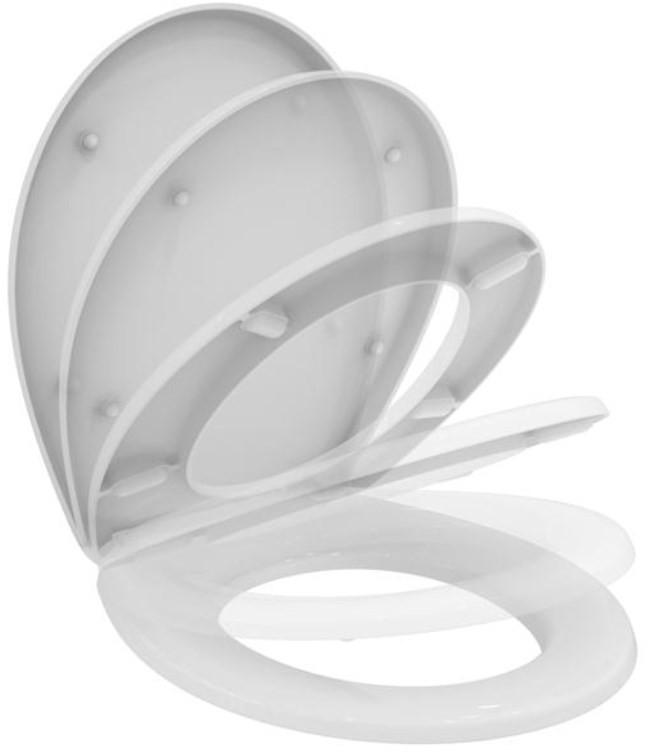 купить Сиденье для унитаза с микролифтом Vidima Seva Fresh W303901 по цене 3530 рублей