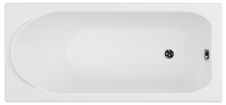 Акриловая ванна 149,2x68,5 см Aquanet Nord 00205381 акриловая ванна aquanet delight 208600 170x78