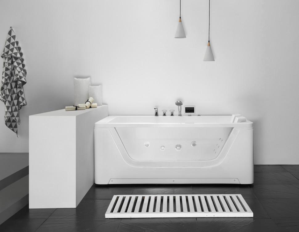 Акриловая гидромассажная ванна 172х121 см Gemy G9226 K