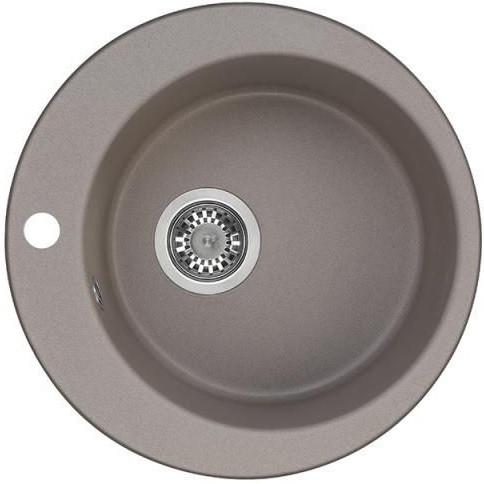 Кухонная мойка серый шелк Акватон Иверия 1A711032IV250 цена 2017