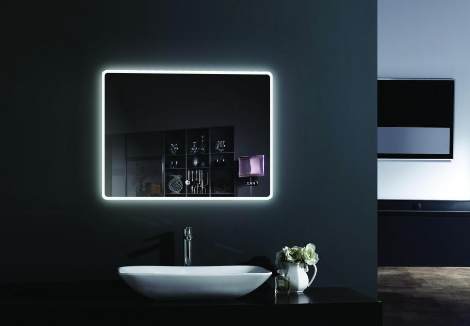 Зеркало с подсветкой 100х80 см Esbano ES-2073KDS