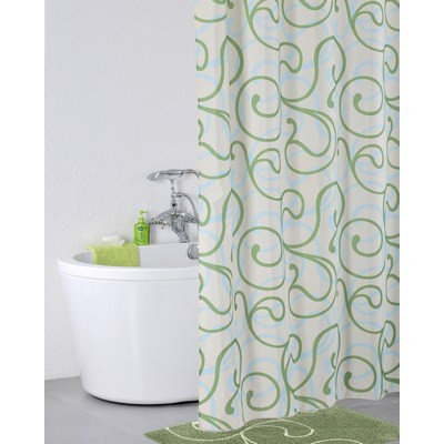 Штора для ванной комнаты IDDIS Flower Lace 412P20RI11