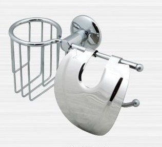 Держатель туалетной бумаги и освежителя воздуха Rainbowl Otel 2530-2 держатель туалетной бумаги rainbowl long с освежителем 2230 2