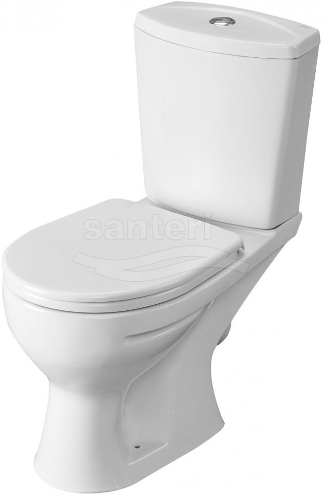 Унитаз-компакт с сиденьем Santeri Ultra 1.P401.3.S00.00B.F унитаз компакт с сиденьем santeri forward 1 p205 2 s00 00b f