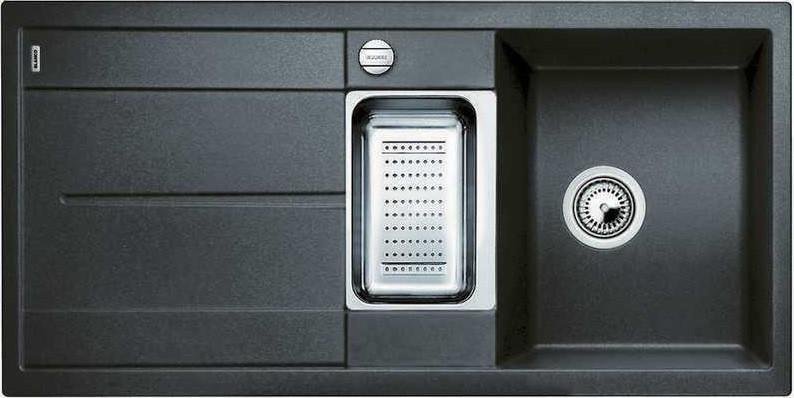 Кухонная мойка Blanco Metra 6 S-F антрацит 519113 кухонная мойка blanco metra 6 f антрацит 519134