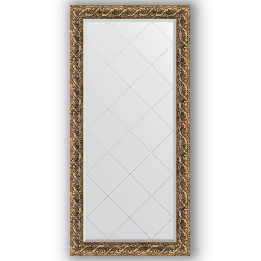 Зеркало 76х158 см фреска Evoform Exclusive-G BY 4270 зеркало evoform exclusive g 185х131 фреска