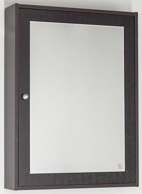 Зеркальный шкаф 60х80 см венге Style Line Кантри LC-00000030 зеркальный шкаф style line кантри 75 2000949009926