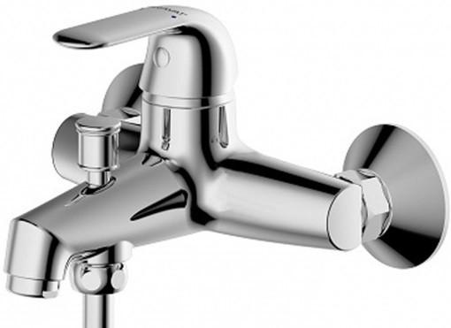 Фото - Смеситель для ванны Bravat Fit F6135188CP-B-RUS смеситель для ванны bravat art короткий излив бронза f675109u b1 rus