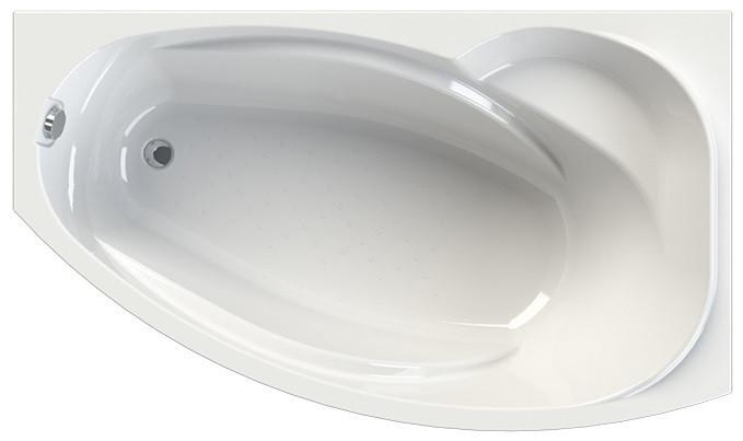 Акриловая ванна правая 169x99 см Vannesa София 2-01-0-2-1-223