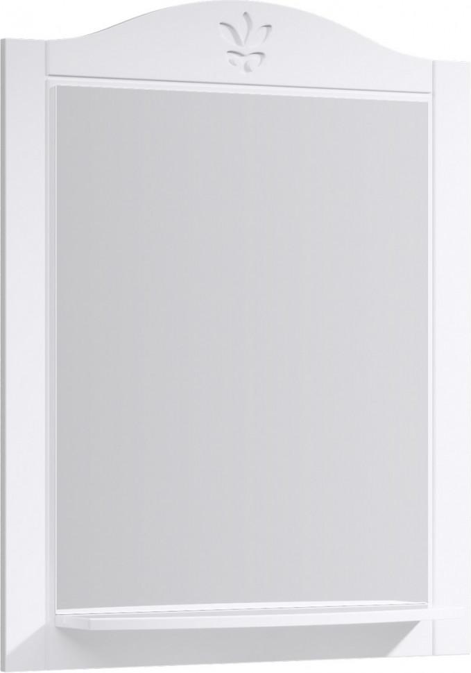Зеркало 75х93 см белый глянец Aqwella Franchesca FR0207 недорого