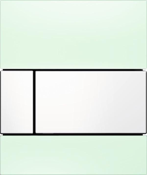 Смывная клавиша для писсуара TECE TECEsquare мятный зеленый/белый 9242803 смывная клавиша для писсуара tece teceloop мятный зеленый белый 9242651