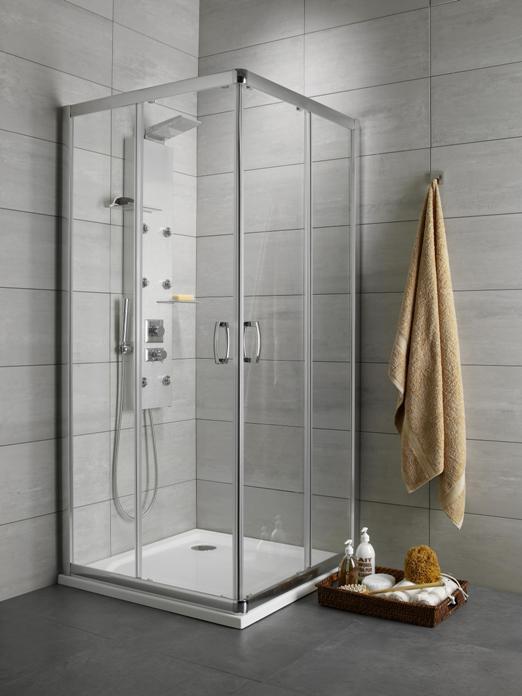 Душевой уголок Radaway Premium Plus D 90×80 прозрачное душевой уголок radaway premium plus d 100x80 30434 01 01n стекло прозрачное