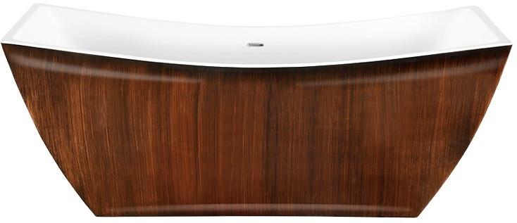 Акриловая ванна 178х75 см Lagard Issa Brown Wood lgd-issa-bw цена 2017