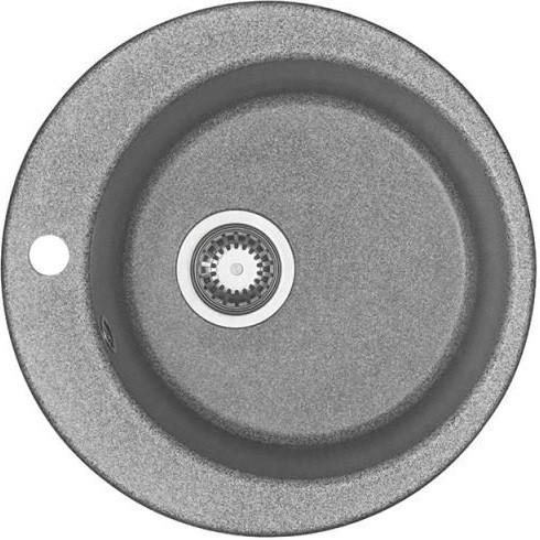 Кухонная мойка серый Акватон Иверия 1A711032IV230