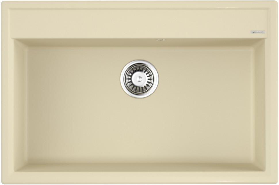 Кухонная мойка ваниль Artgranit Omoikiri Daisen 77-BE недорого