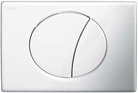 Смывная клавиша Mepa Sun матовый хром 421668 фото