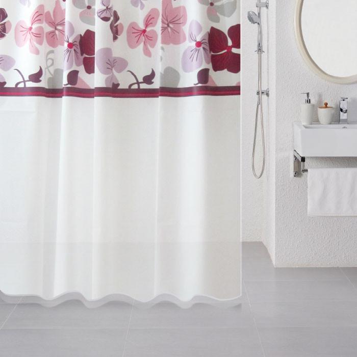 Штора для ванной комнаты Milardo Nemesia 501V180M11 цена и фото