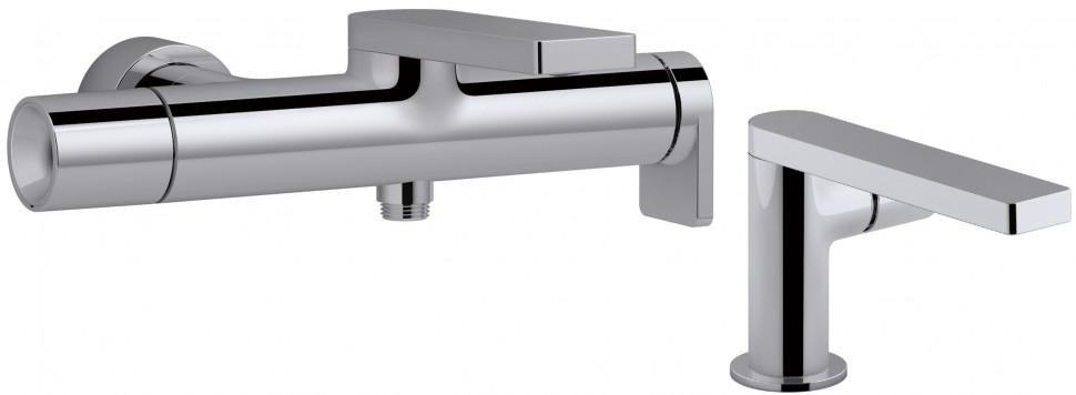 Комплект смесителей Jacob Delafon Composed E73095-CP + E73050-CP