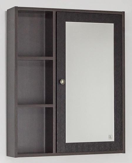 Зеркальный шкаф 65х80 см венге Style Line Кантри LC-00000031 зеркальный шкаф style line кантри 75 2000949009926