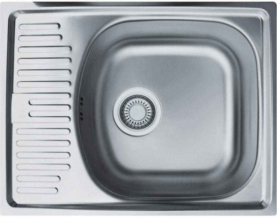 Фото - Кухонная мойка Franke Eurostar ETN 611-56 матовая сталь 101.0174.517 franke etn 610