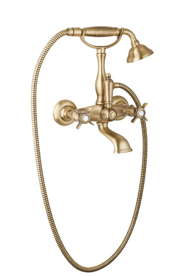Смеситель для ванны бронза Cezares Lord LORD-VD-02 цена и фото