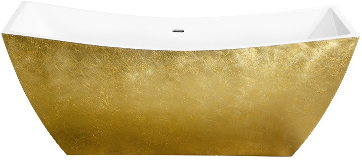 Акриловая ванна 178х75 см Lagard Issa Treasure Gold lgd-issa-tg