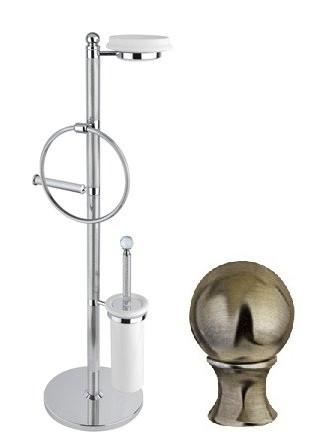 Комплект для туалета бронза, металл Cezares Olimp OLIMP-WBS-02-M фото