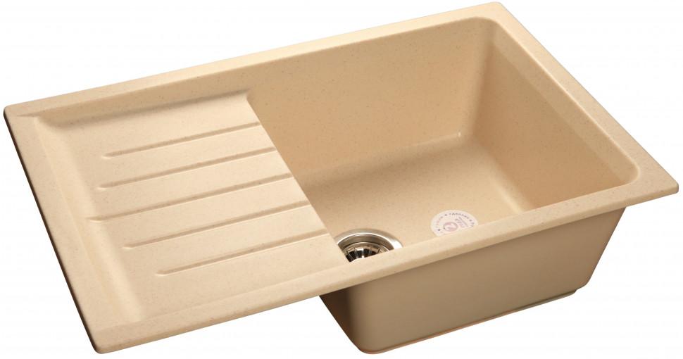 Кухонная мойка бежевый GranFest Practic GF-P760L цены