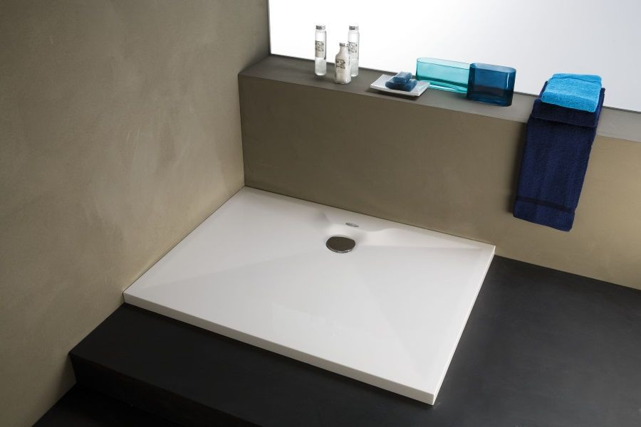 Душевой поддон из литого мрамора 120х80 см Kolpa San Duro