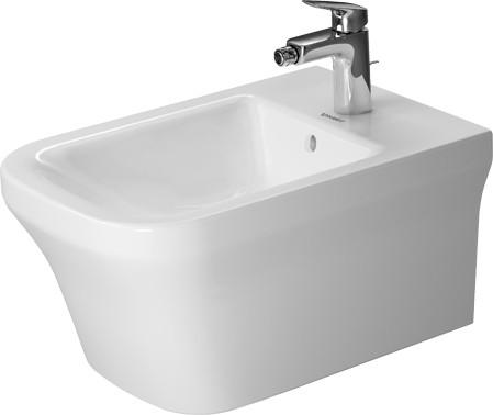 Подвесное биде Duravit P3 Comforts 2268150000 акриловая ванна 180х80 см duravit p3 comforts 700377000000000