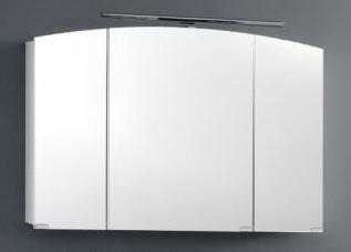 Зеркало-шкаф 100х65 см белый Kolpa San Iman OGI WH