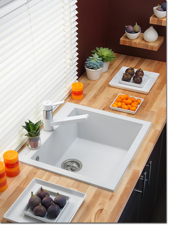 лучшая цена Кухонная мойка альпина Longran Cube CUG560.500 - 07