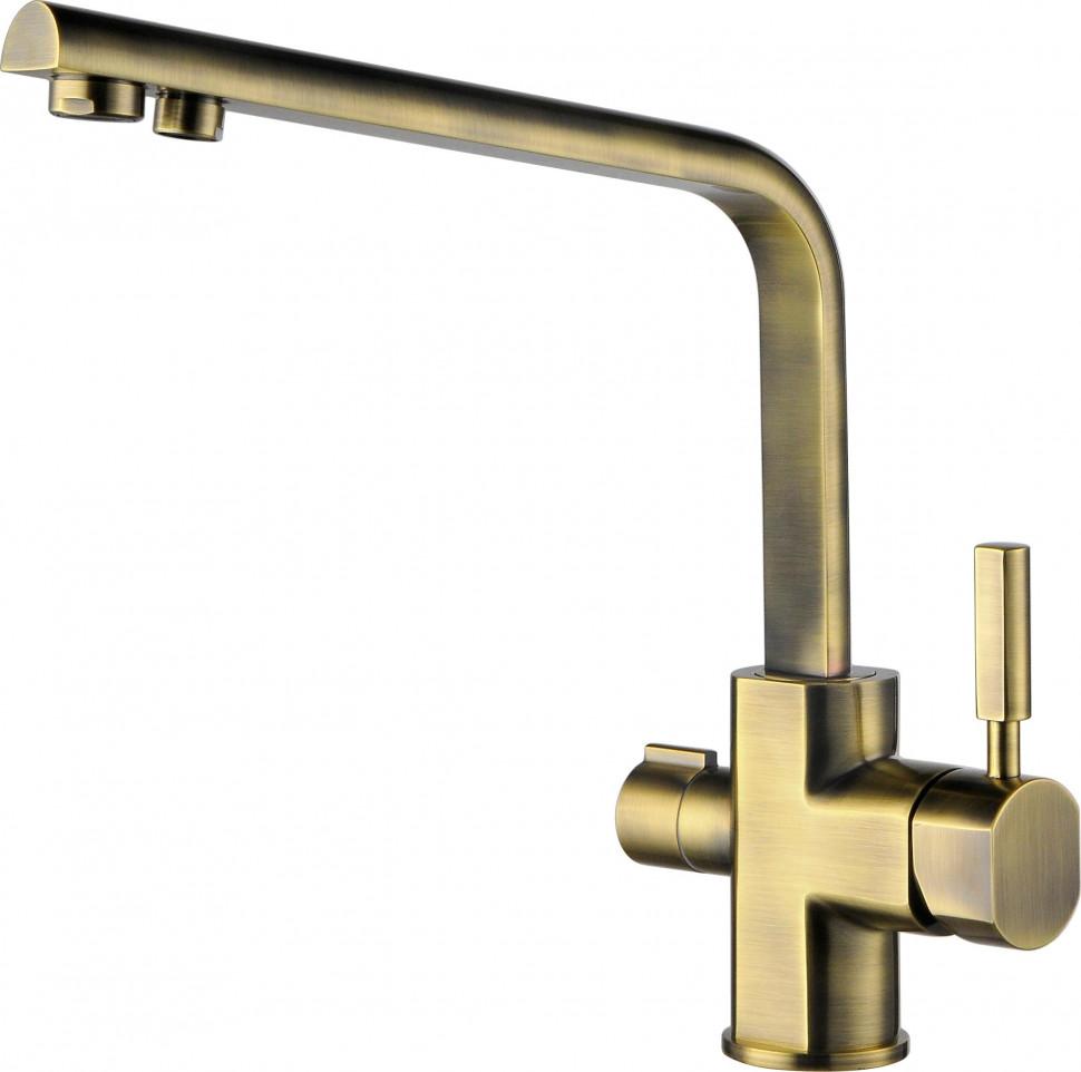 Смеситель для кухни с подключением к фильтру Kaiser Decor 40144-3 фото