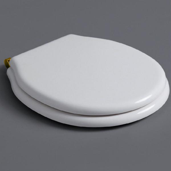 Сиденье для унитаза белый/золото Simas Londra LO003bi/oro бачок для унитаза simas lante la28b