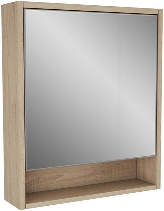 Зеркальный шкаф 65х70 см дуб сонома Alvaro Banos Toledo 8409.6012 душевой уголок alvaro banos toledo toledo s90 10 cromo